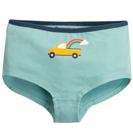Frugi Blue Truck Georgia Girl Shorts