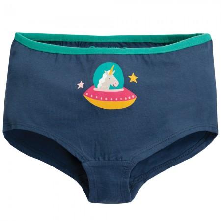 Frugi Blue Unicorn Georgia Girl Shorts