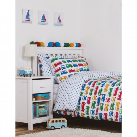 Frugi Camper Van Cot Bed Set