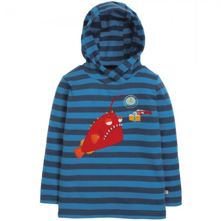 Frugi Campfire Hooded Angler Fish Top