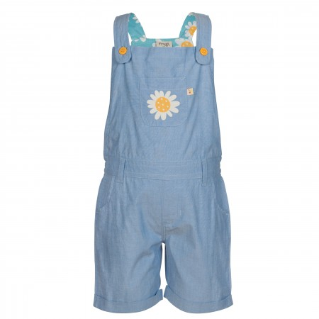 Frugi Daymer Bay Dungarees - Chambray