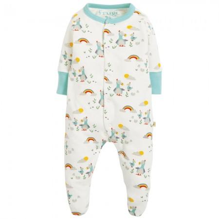 Frugi Delightful Dodos Lovely Little Babygrow