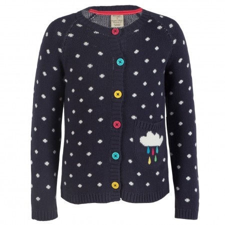 Frugi Dotty Cardigan