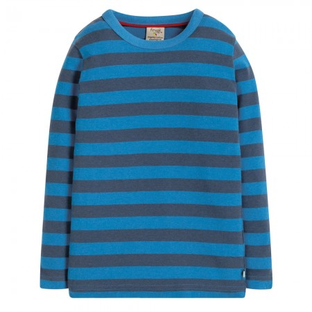 Frugi Blue Stripe Favourite Long Sleeve Tee