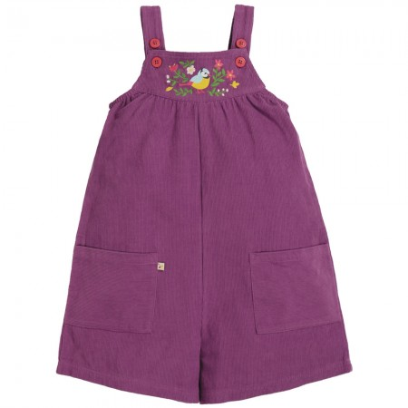 Frugi Finch Floral Peggy Cord Playsuit