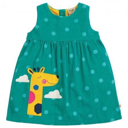 Frugi Giraffe Lily Cord Dress