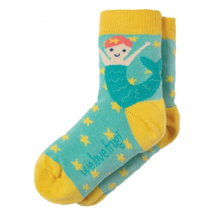 Frugi Mermaid Perfect Pair Socks