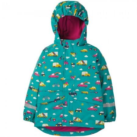 Frugi Rainbow Roads Puddle Buster Coat
