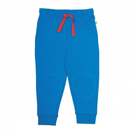 Frugi Diver Blue Kneepatch Crawlers