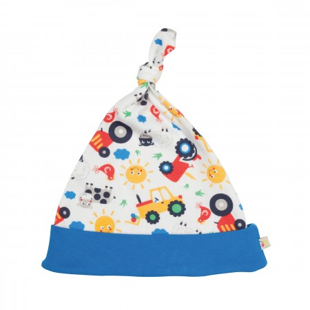 Frugi Lovely Hat - Farm Friends