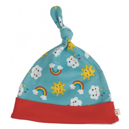 Frugi Lovely Knotted Hat - Sunny Days