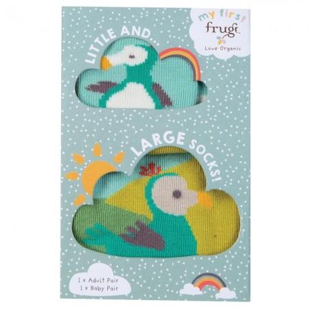 Frugi Little & Large Dodo Socks 6-12 Months / Large Adult