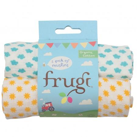 Frugi Sunny Days Lovely Muslins x 2