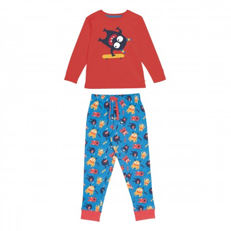 Frugi Monster Long John PJs