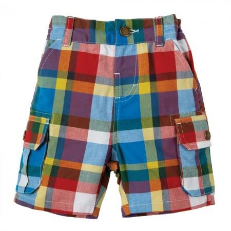Frugi Scilly Check Shorts