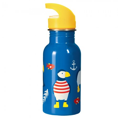 Frugi Paddling Puffins Splish Splash Bottle