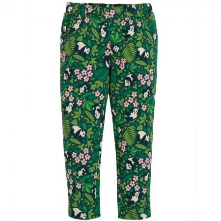 Frugi Panda Floral Tresco Trousers