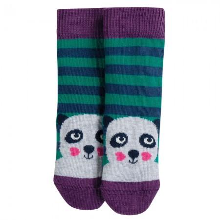 Frugi Panda Perfect Pair Little Socks