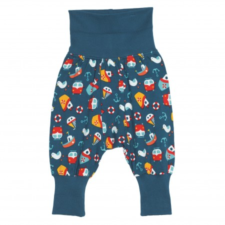 Frugi Parsnip Pants - Day At The Seaside