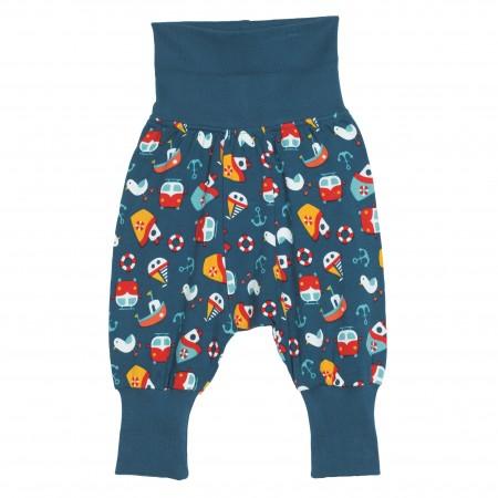 Frugi Parsnip Pants - Day At The Seaside