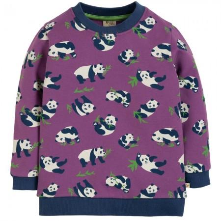 Frugi Peekaboo Pandas Sammy Sweatshirt