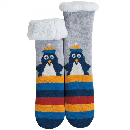 Frugi Penguin Cosy Up Socks