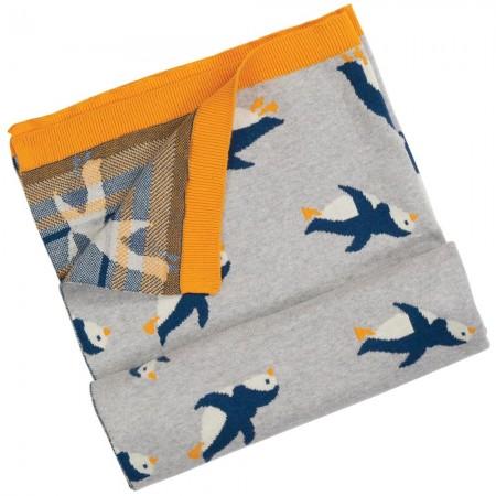 Frugi Penguin Snug As A Bug Blanket