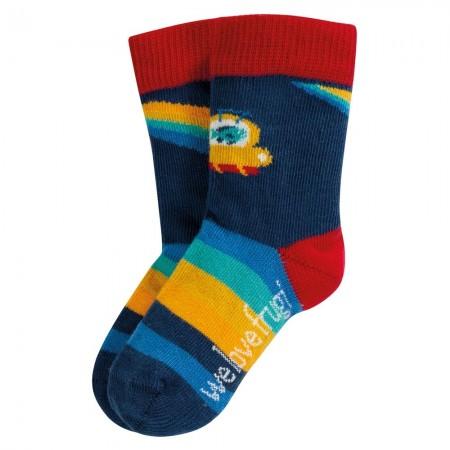 Frugi Rainbow Perfect Little Pair Socks