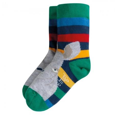 Frugi Rhino Perfect Pair Socks