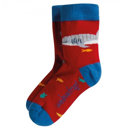 Frugi Whale Shark Perfect Pair Whale Shark Socks