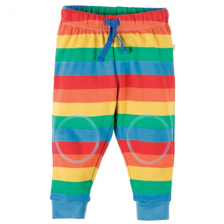 Frugi Rainbow Kneepatch Crawlers