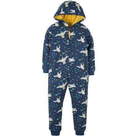 Frugi Seagull Snorkel Big Snuggle Suit