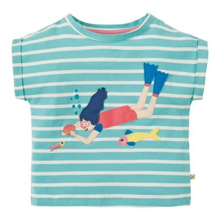 Frugi Snorkelling Bella Stripy T Shirt