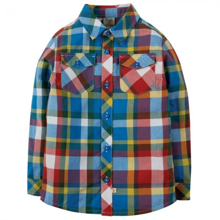 Frugi Scilly Check Hector Shirt