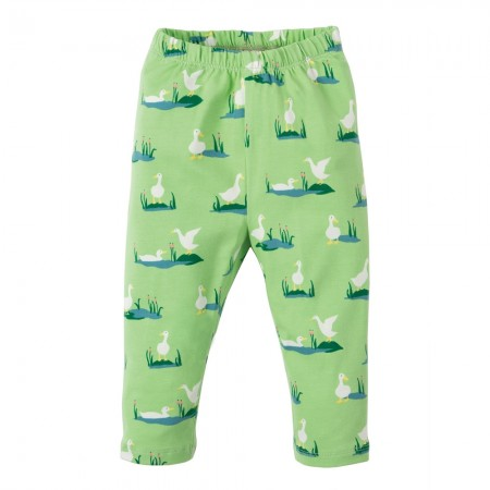 Frugi Duck Ponds Little Libby Leggings