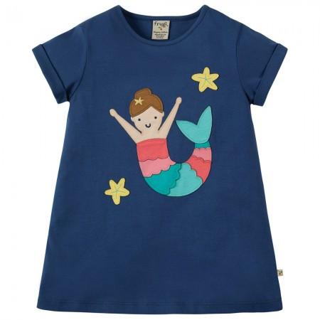 Frugi Mermaid Sophie Applique Top