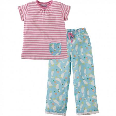 Frugi Ducky Dash Peony Pyjamas