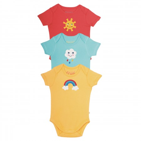 Frugi Super Special Body 3 Pack - Sunny Days