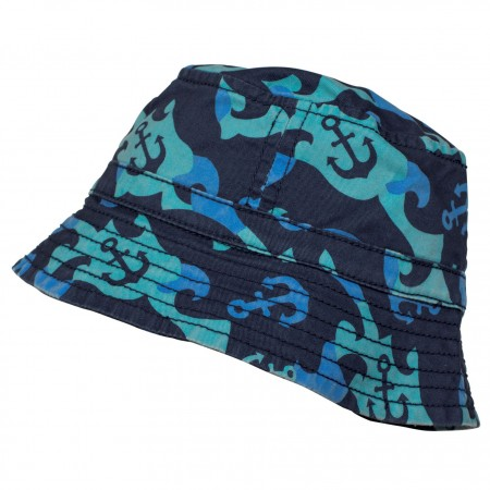 Frugi Toby Hat - Anchor Camo