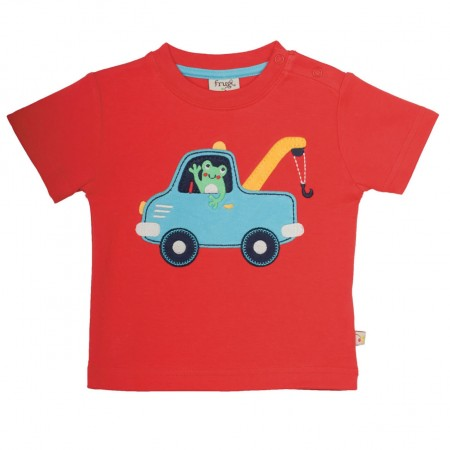 Frugi Little Wheels Truck Top
