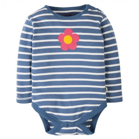 Frugi Blue Flower Lerryn Body