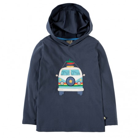 Frugi Camper Campfire Hooded Top