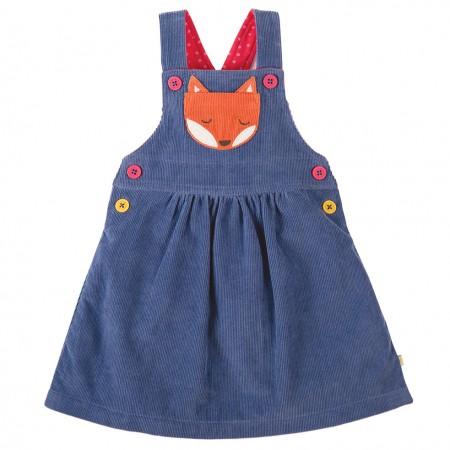 Frugi Fox Doris Dungaree Dress