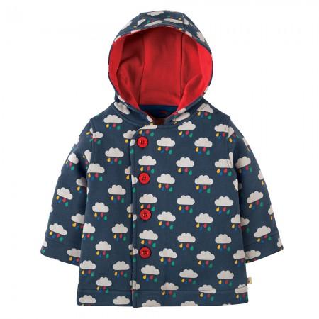Frugi Rain Clouds Button Up Jacket