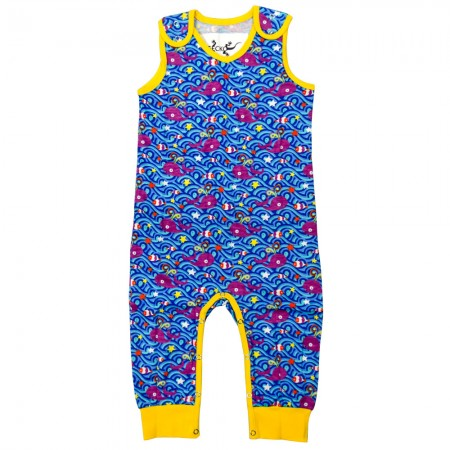 Gecko Whale Of A Time Dungarees