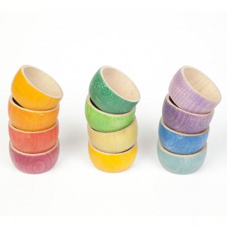 Grapat 12 Rainbow Bowls