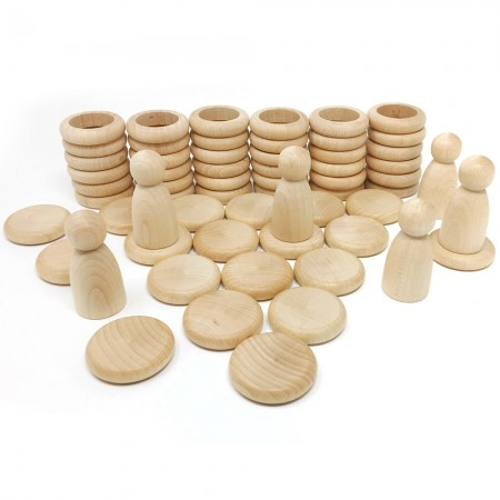 Grapat Natural Nins®, Rings & Coins