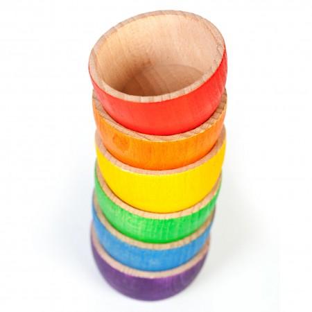 Grapat 6 Rainbow Bowls