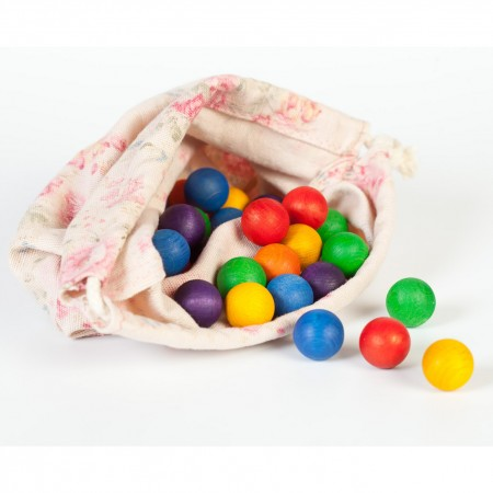 Grapat 36 Wooden Marbles