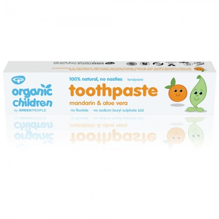 Organic Babies Toothpaste Mandarin & Aloe Vera